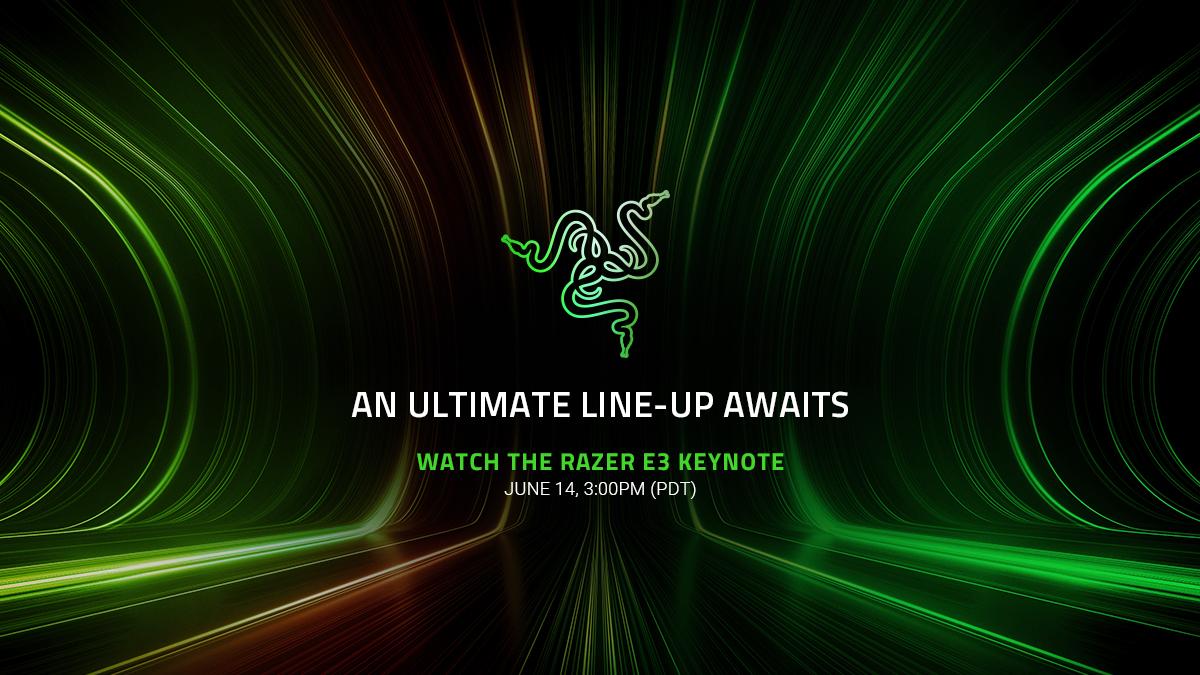 E3 2021, Razer annuncia data e ora del suo evento digitale