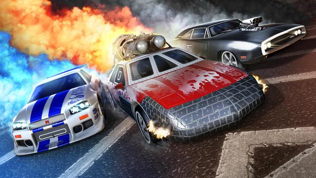 Rocket League, contenuti a tema Fast & Furious in arrivo la prossima settimana
