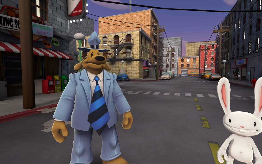 Sam & Max This Time It's Virtual, mostrato il gameplay trailer ufficiale