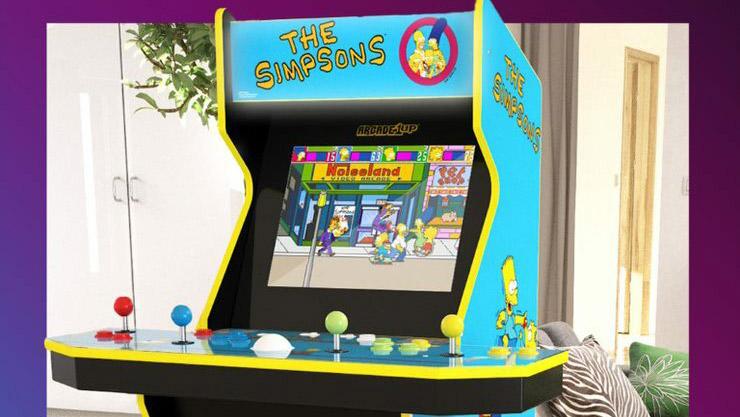 The Simpsons, Arcade1Up annuncia il suo cabinato arcade