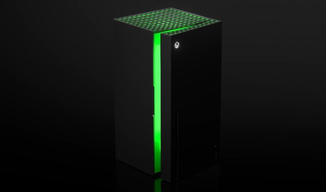 Xbox rivela il suo mini frigo: esce a fine 2021