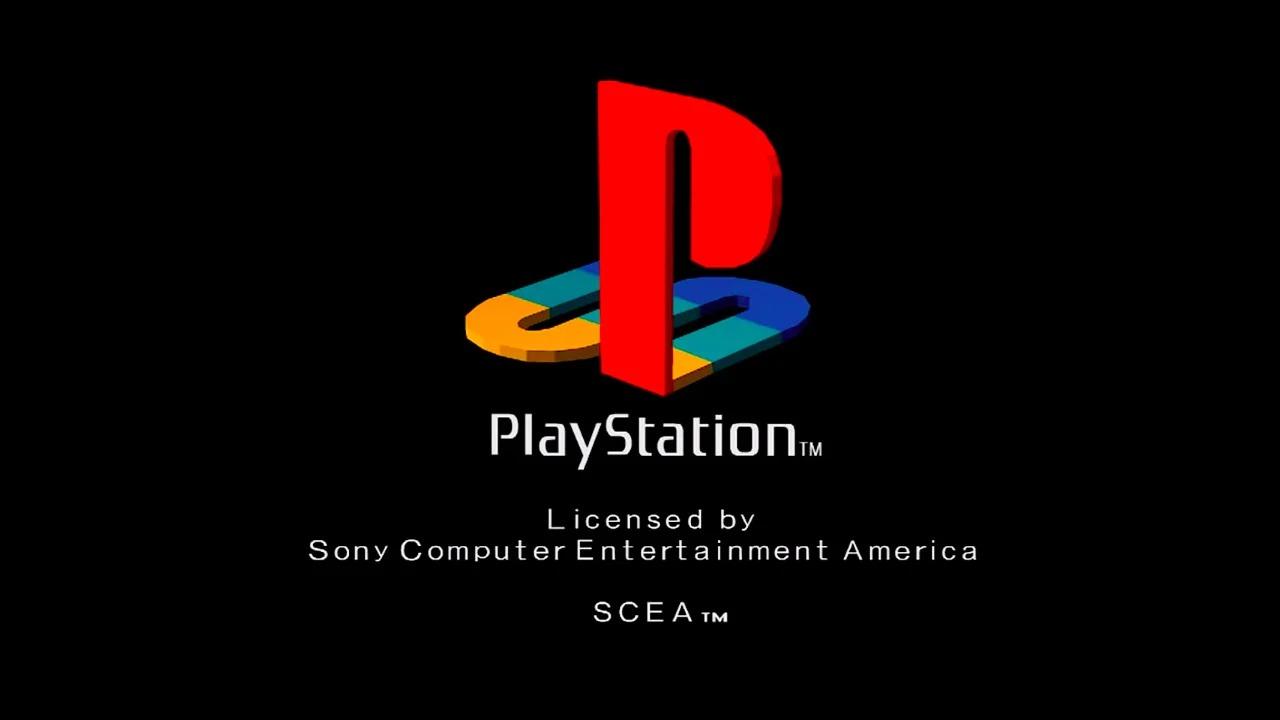 PS1, il logo della schermata iniziale sarebbe un modello in 3D