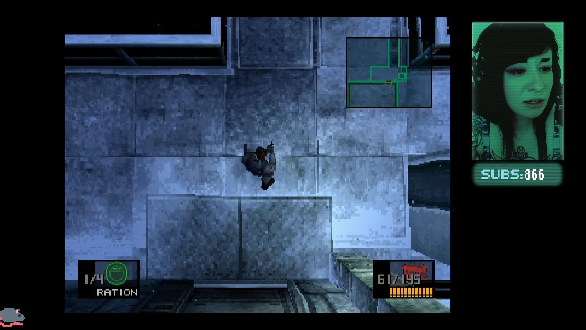 Metal Gear Solid, una streamer scopre involontariamente un glitch che fa impazzire i speedrunner