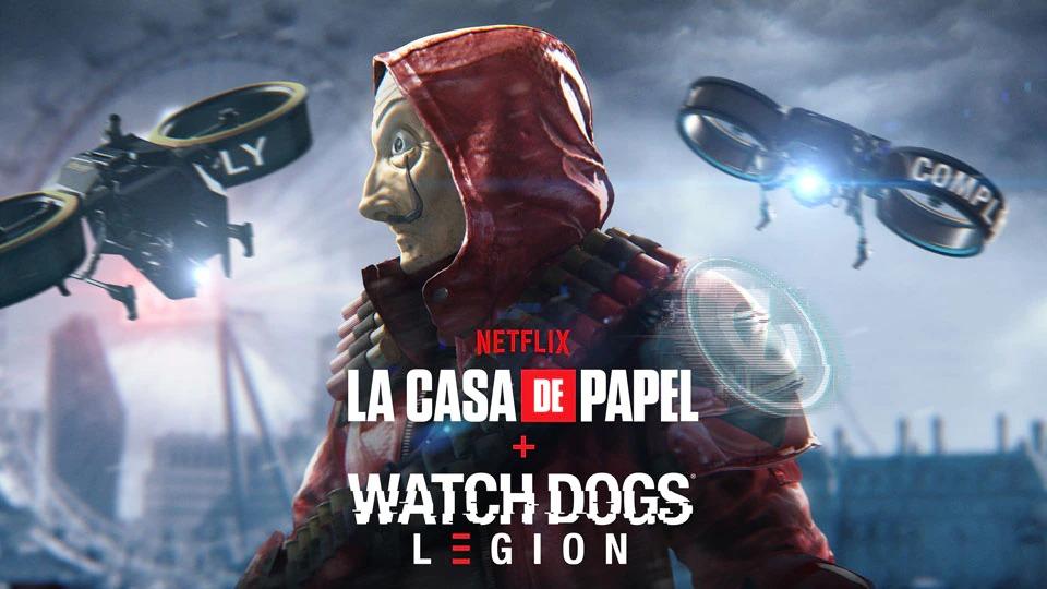 Watch Dogs Legion, il nuovo evento della modalità Online è a tema La Casa di Carta