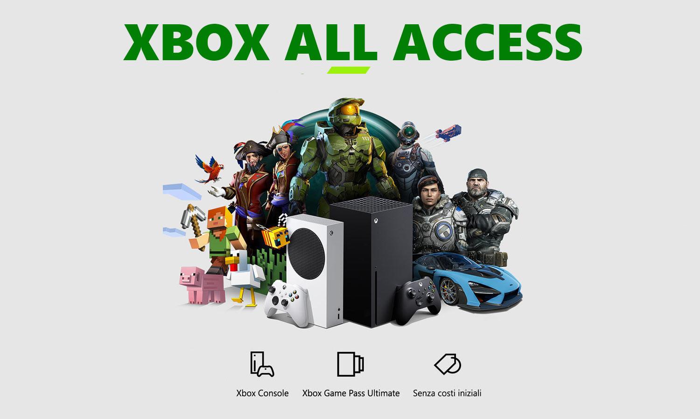 Xbox All Access arriva in Italia da GameStop, la conferma di Microsoft
