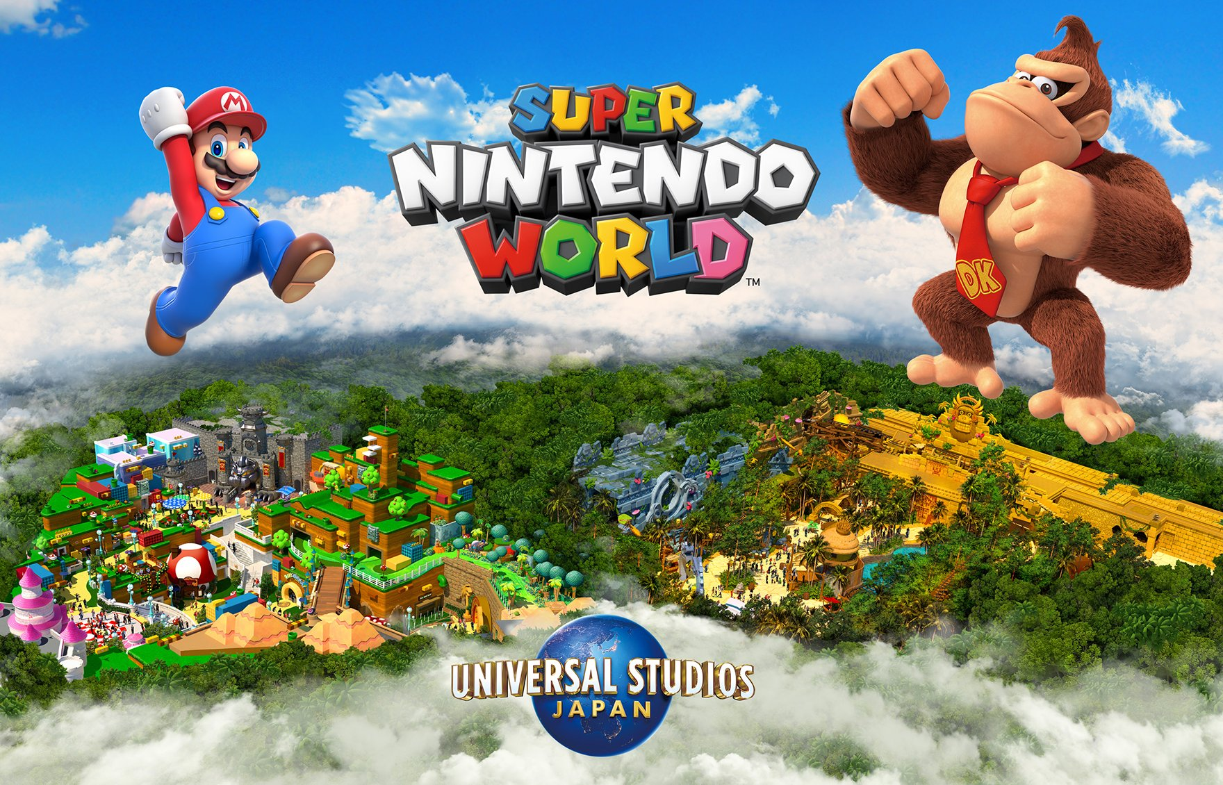Super Nintendo World, confermata l'area a tema Donkey Kong: apertura nel 2024