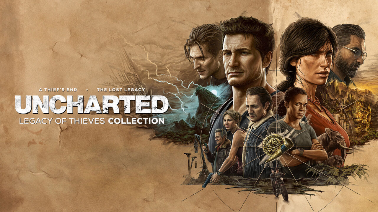 Uncharted Legacy of Thieves Collection annunciato per PC e PS5