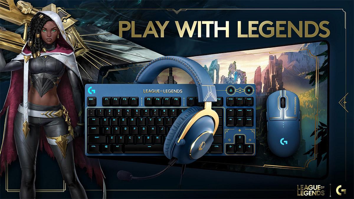 League of Legends, Logitech G e Riot Games rivelano il setup da gaming ufficiale