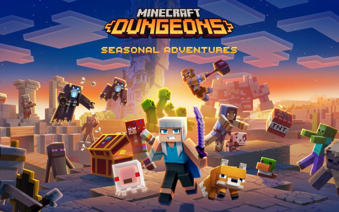 Minecraft Dungeons, rivelate le Avventure Stagionali: annunciato The Cloudy Climb